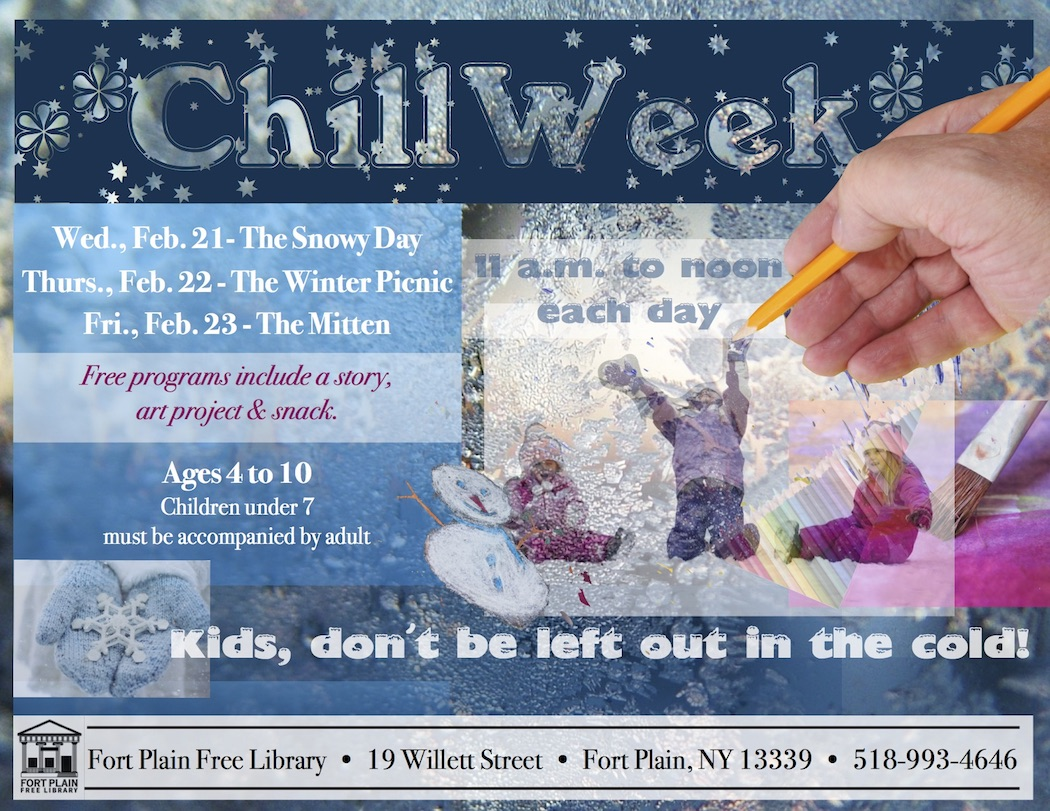 "Kids' ""Chill Week"": The Snowy Day @ Fort Plain Free Library 