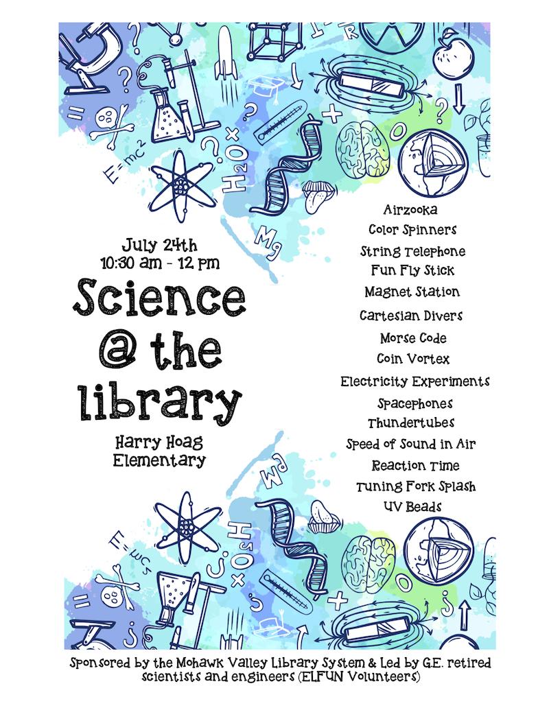 ELFUN Science Fair at the Harry Hoag School @ Harry Hoag Elementary School