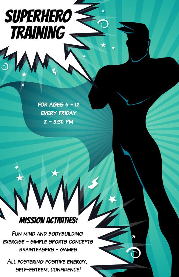 Super Hero Training @ Fort Plain Free Library